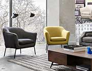 Grey Accent Chair DS Prestige