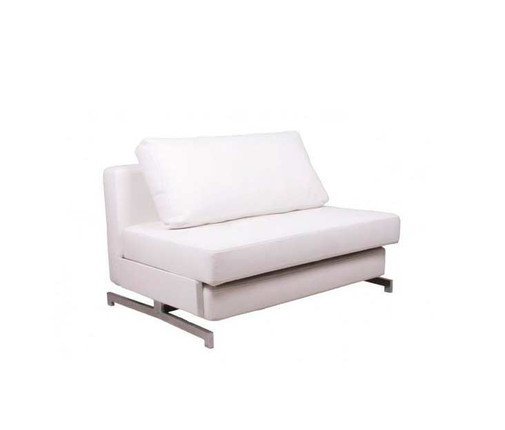 Superb White Leatherette Sofa Bed Nj 43 2 Sofa Beds Caraccident5 Cool Chair Designs And Ideas Caraccident5Info