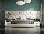 White High Gloss Bed EF Emperor