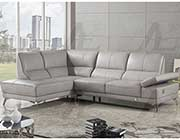 Top Grain Leather Sectional Sofa AE692
