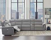 Power Recliner Sectional Fabric sofa HE259