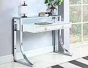 Glossy White Writing Desk CO 141