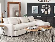 Reversible 2PCS Sectional sofa DS Albertine