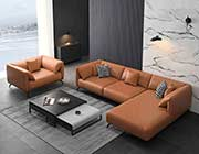 Sectional leather sofa EF 012