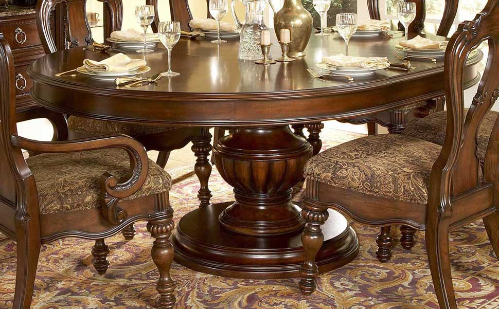 home dining room classic dining round table set he