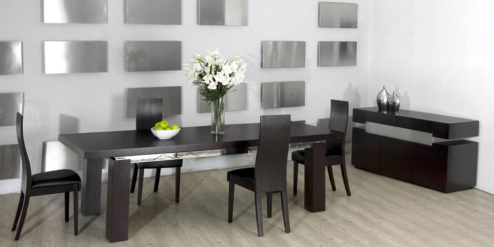 ... Maxims Furniture By Maxim Table Modern Dining ...