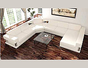 HE White Sectional Sofa Set 987