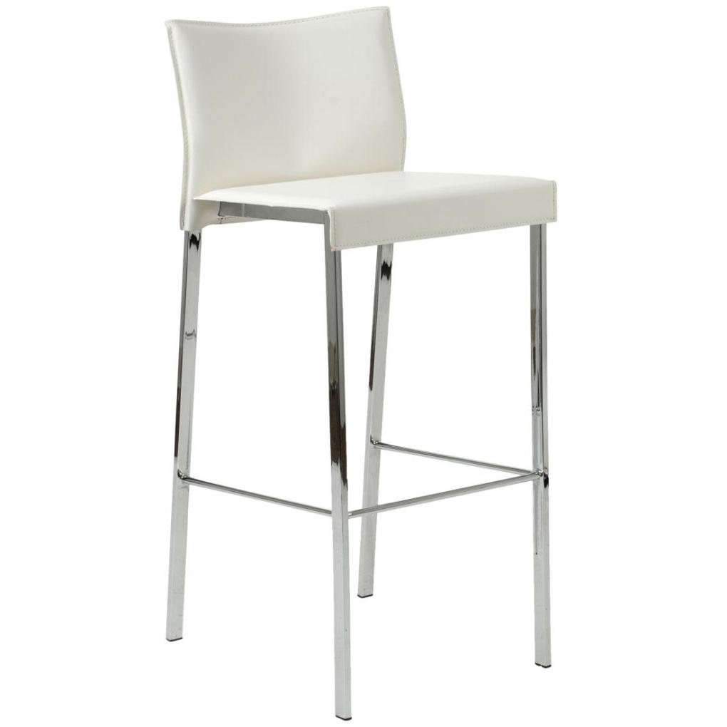 riley leather barstool | bar stools