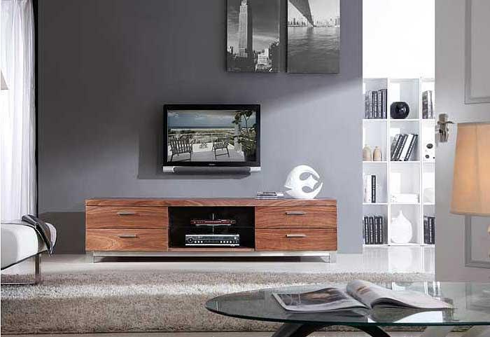 Home >> Living Room >> TV Stands >> Modern Walnut TV-Stand BM3