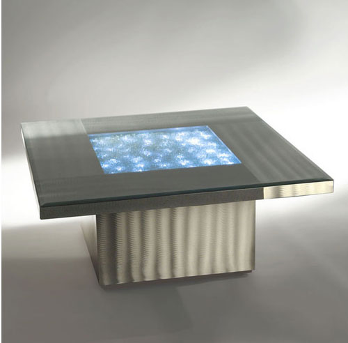 Modern Illuminated Coffee Table Neo Contemporary