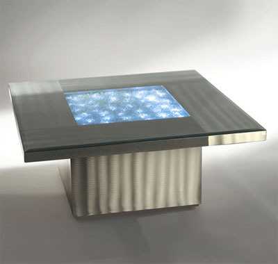 Modern illuminated coffee table Neo