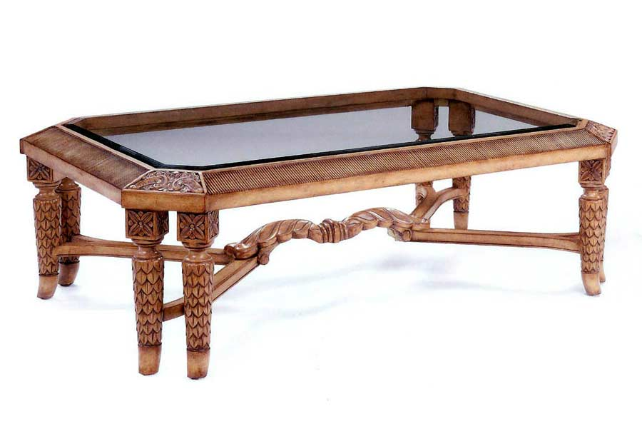 Bt 087 Traditional Classic Coffee Table In Maple Finish Classic