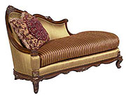 BT 072 Traditional Mahogany Chaise Lounge