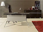Unique Furniture 300 Collection Walnut Desk 302