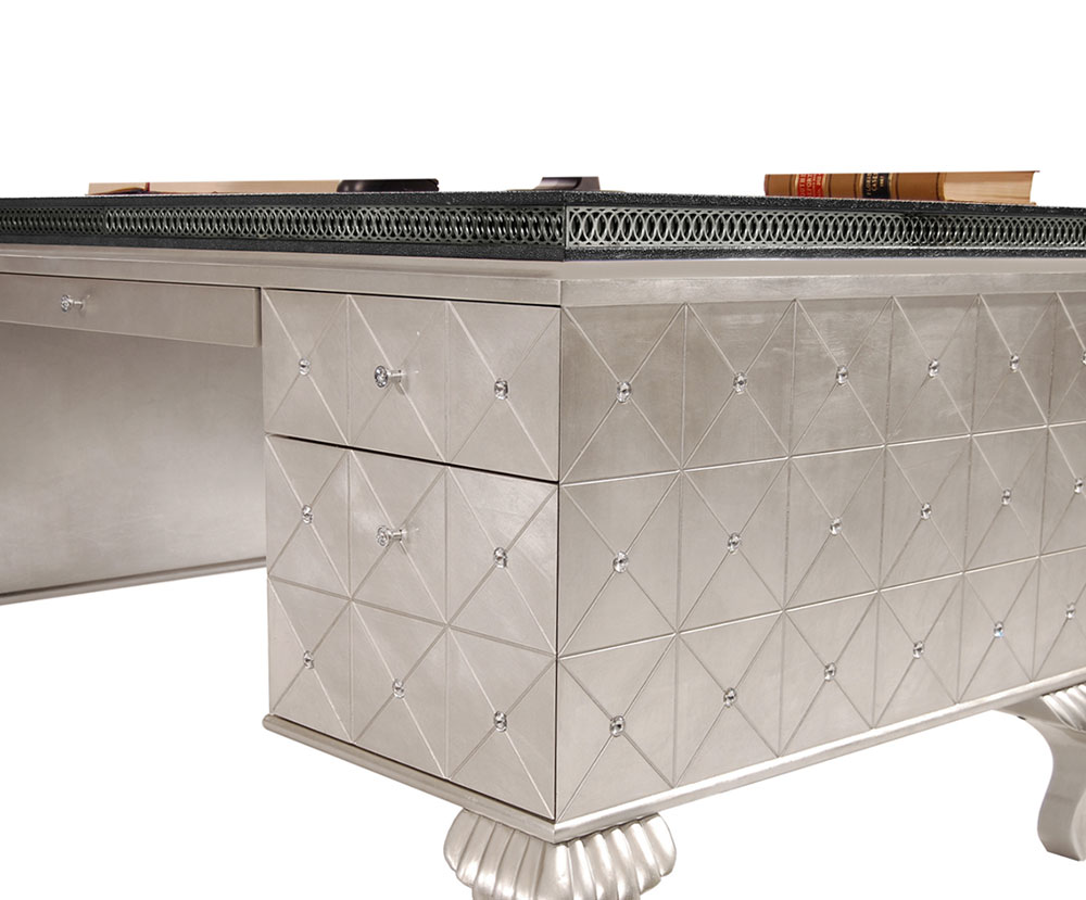 ... Hollywood Swank Desk By AICO ...