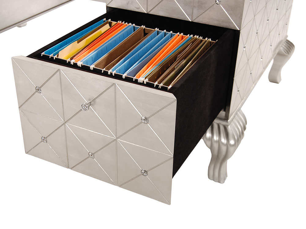 ... Hollywood Swank Desk By AICO