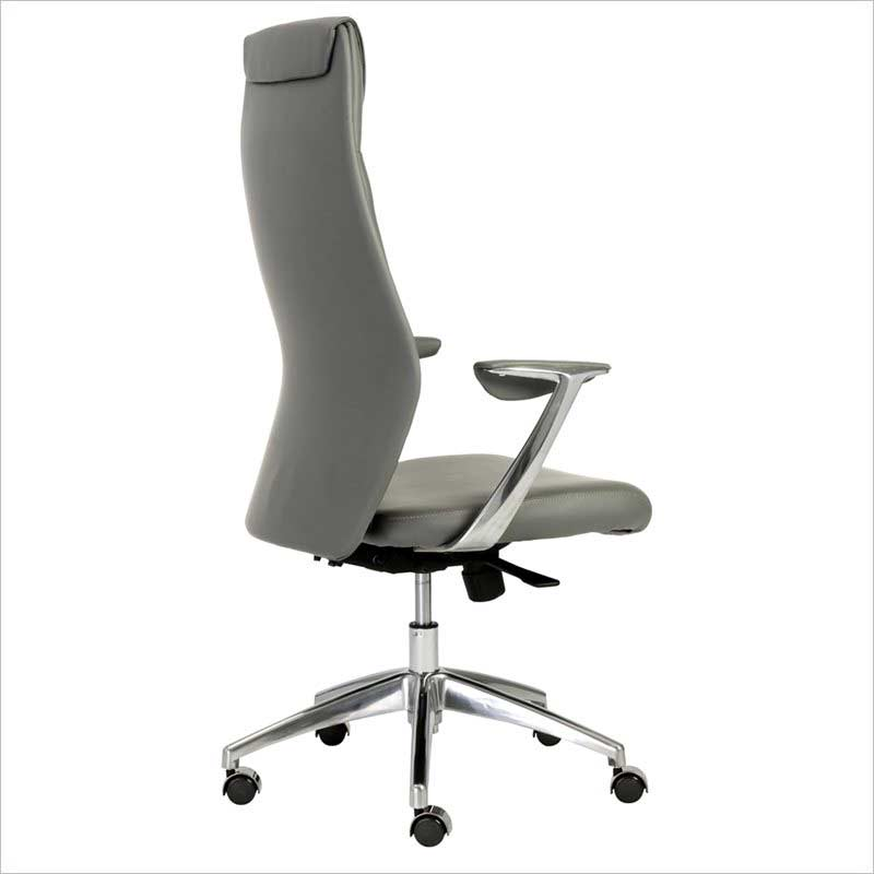 crosby high back grey office chair | office chairs