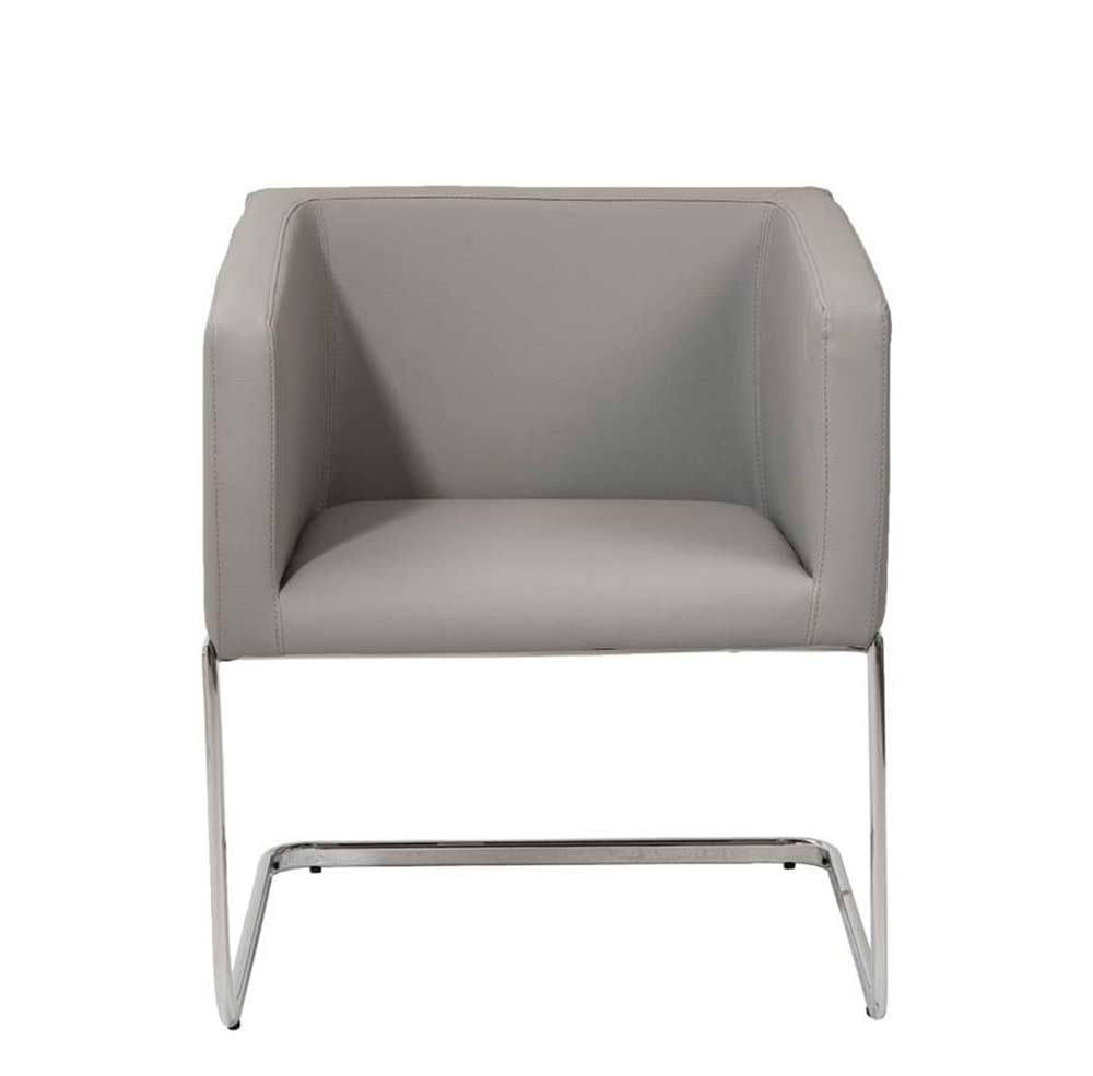 Modern arm chair estyle 812 in gray accent seating for Modern arm chair