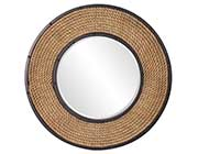 Transitional Round Designer Wall Mirror HRE 248