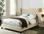 Fabienne Upholstered Bed with Optional Bench AC 650