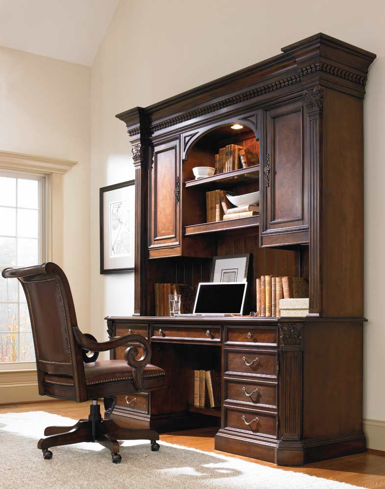Executive Office Furniture: European Renaissance II Executive Desk By Hooker Furniture