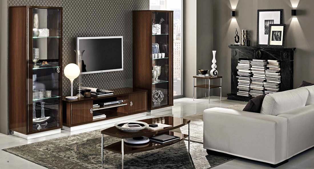Modern Walnut Tv Stand Collection Ef Rica Tv Stands