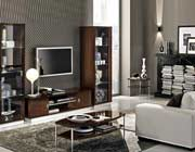 Modern Walnut TV Stand Collection EF Rica