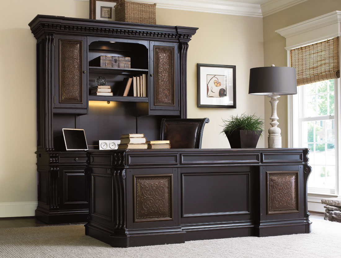 Home Office Desk: Telluride Computer Credenza By Hooker Furniture