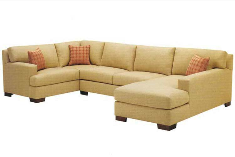 Custom Fabric Sectional Avelle 046