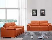 Modern Top Grain Italian Leather Sofa Set VG63