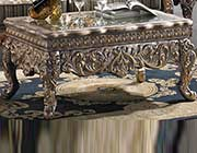Classic Coffee table in Silver Finish HD1011S