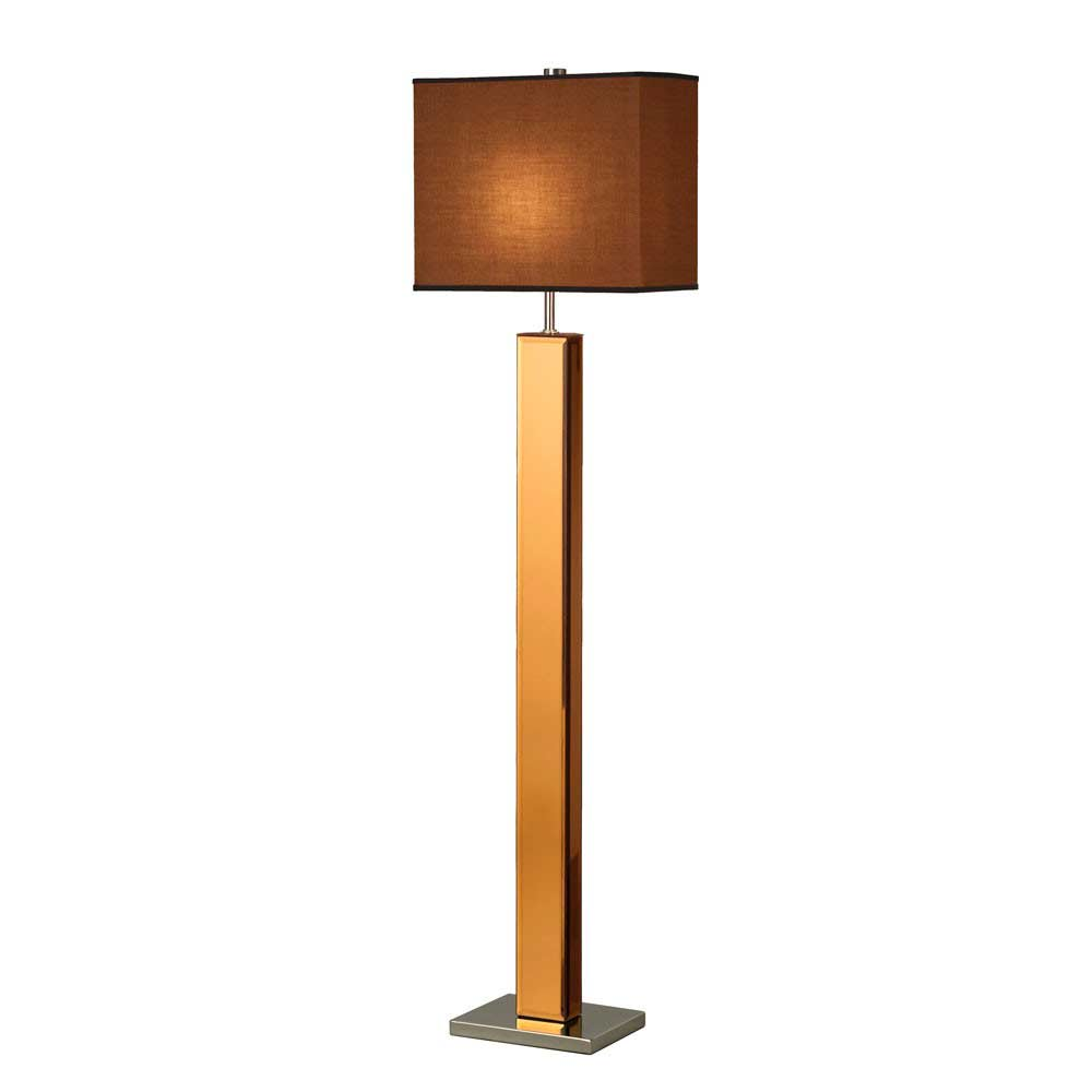 Floor lamp bronze finish nl945 floor table for Floor lamp with table