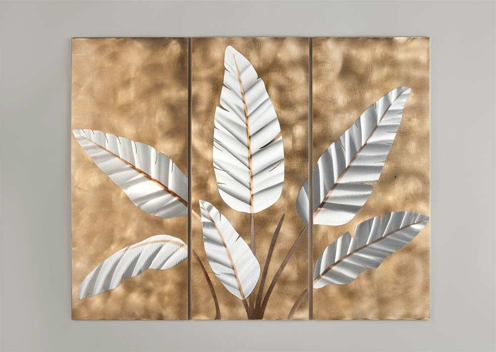 Wall Art Of Leaves : Contemporary wall art leaves nl design accessories