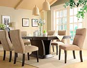 Espresso Extendable Dining Set HE448