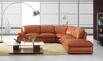 Sofa Sectional Camel