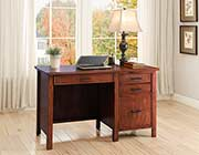 Red Brown Desk CO 199