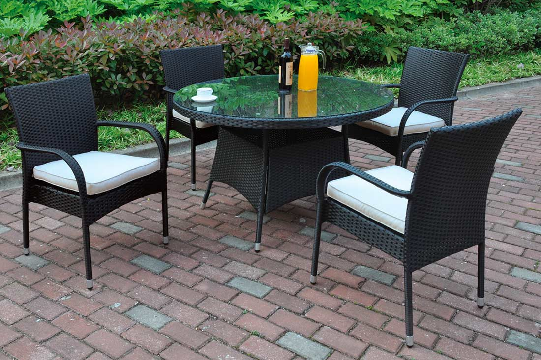 5 piece outdoor dining set px207 outdoor furniture sets for Outdoor furniture 5 piece