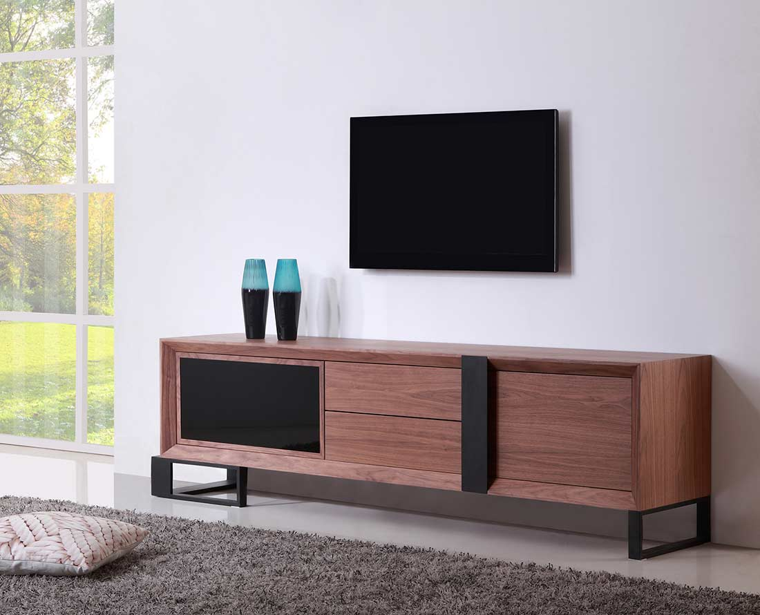 extra long modern white tv stand bm 36 tv stands. Black Bedroom Furniture Sets. Home Design Ideas