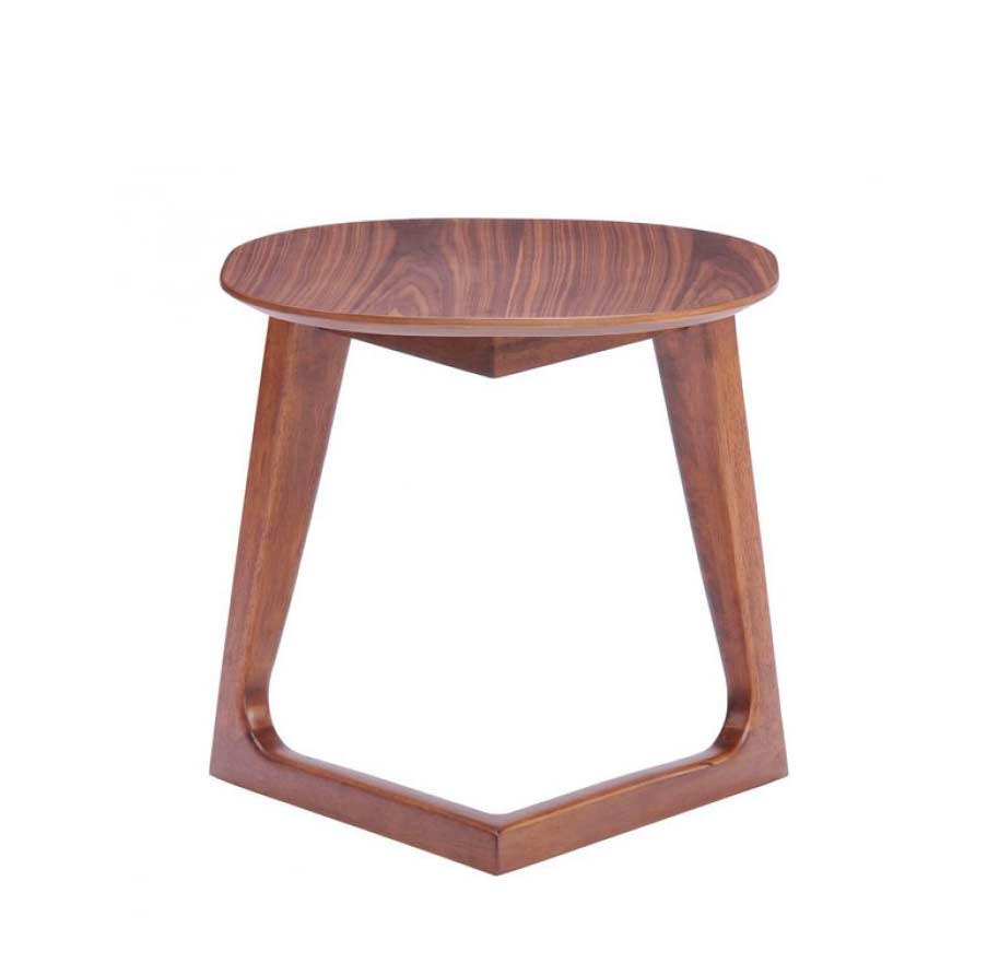Modern walnut coffee table z097 contemporary Modern coffee and end tables