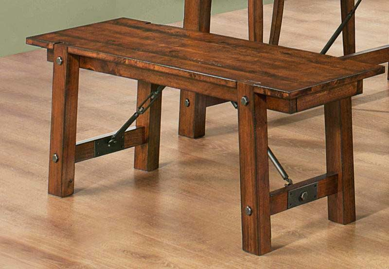 rustic pecan extendable table co 991 urban transitional