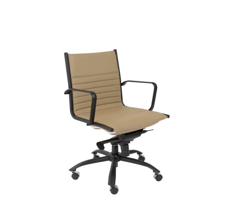 Grey Low Back Office Chair Estyle718 Office Chairs