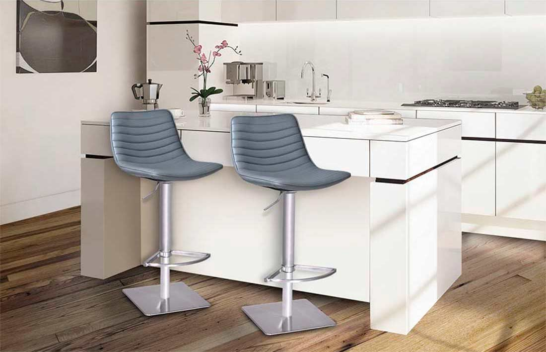 Air Lift Swivel Bar Stool Arl Moon Bar Stools