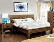 Platform Bed in Rustic Finish FA51