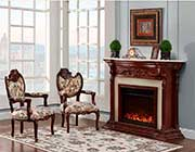 French Provincial Fireplace 9171