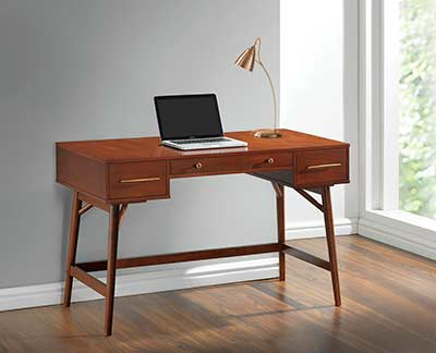 Walnut Wood Writing Desk CO 744