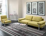 Lime Fabric Sofa Z624