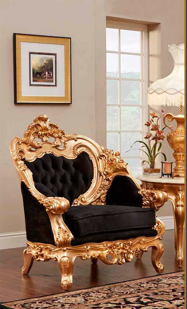 French Provincial Chair 6381 ...