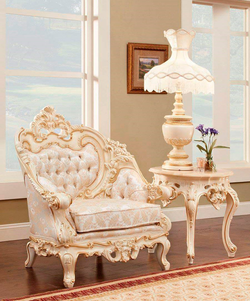 Genial French Provincial Chair 6381