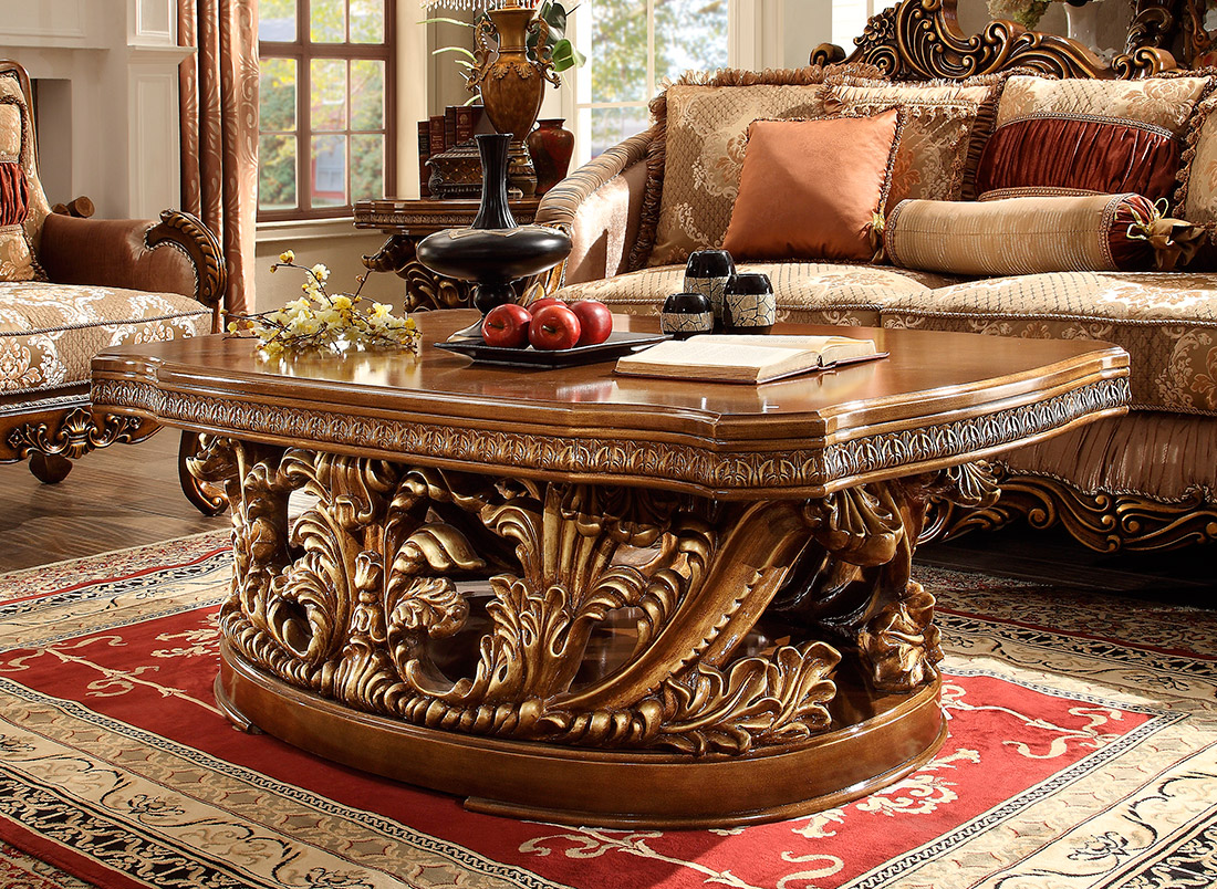 Traditional coffee table hd classic