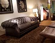 Top Grain Leather Darlingtion Sofa by Moroni